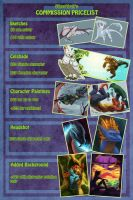 Commission Price List II by Endivinity