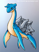 Lapras by Sketch-BGI