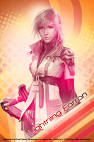 Lightning Farron Poster by ladylucienne