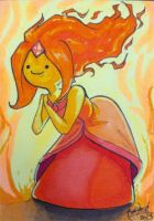 Flame Princess by skardash