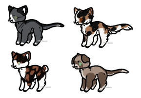 CLOSED CHEAP Cat Adopts by LillyofIndominus