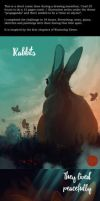 Rabbits, they lived peacefully by ShanaPatry