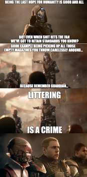 LITTERING IS A CRIME! by starscream0666
