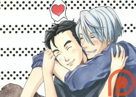 YuriOnIce - Cuddles by pillowds