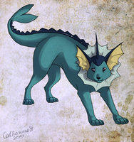 Vaporeon by CatherineSt