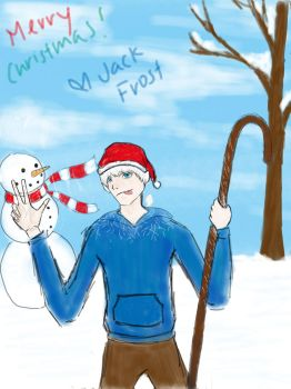 Merry Christmas! - Jack Frost by lilchyeah