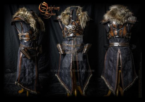 Witcher inspired - Warrior armor set