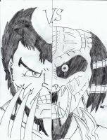 WOLVERINE VS PREDATOR by Arak-8
