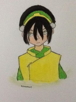 ATLA: Toph (Colored) by Elements27
