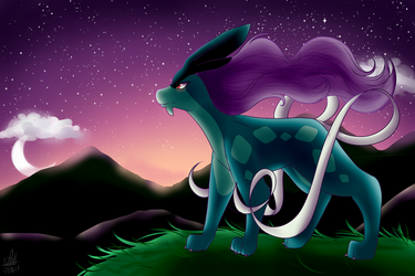 Suicune by xxXPandaArtsXxx