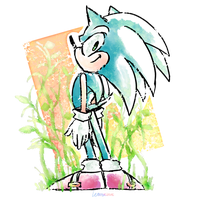 Sonic by Lem0nseizure