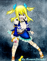 Lucy in Aquarius Stardress by DragonFairy93