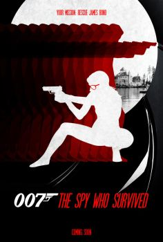 007: The Spy Who Survived - Poster by Delorean7