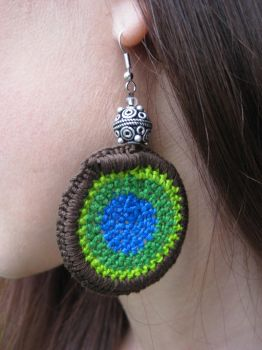 'Fiesta' earrings by crazynina