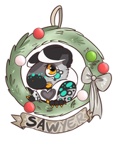 Sawyer Wreath by MonsterMeds