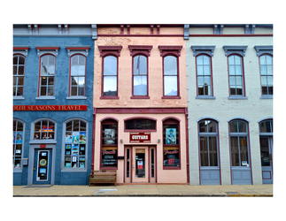 Colored Buildings by linziexdiane