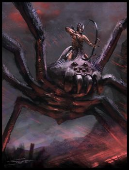 spider rider by Chris-Karbach