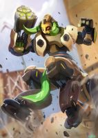 Orisa by DanLuVisiArt