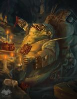 Devotee to the Goblin King by Luka87