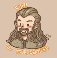 Fili! At your service! by haleyhss