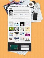 Personal website 1 by zagiPL
