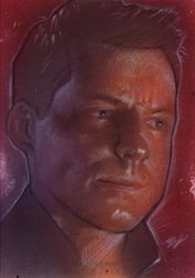 Lee Adama Sketch Card by Ethrendil