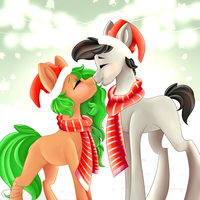 'Tis The Season - Finished YCH by beashay