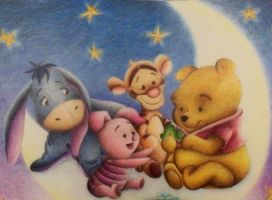 baby pooh and friends by xklulessx0818x
