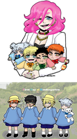 [MSnD] Baby pictures by SoloAzume