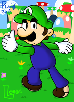 More Luigi by PoisonLuigi