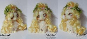 FeaDoll little Unicorn by Nailyce