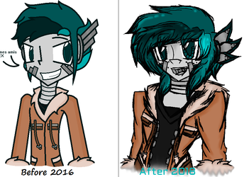 LEX's Evolution Before and After by Ceja4Chain