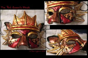 The Red Queen's Mask by SpaceTurtleStudios