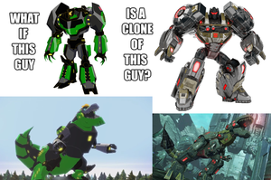 Grimlock is a clone - Theory by ZoraTheTwilightDrake
