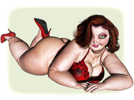 Pinup Number Thirty-Five: Big and Beautiful by wcpelon
