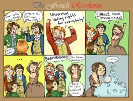 The French Revolution by Hiutale