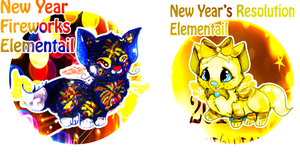 New Years Elementail Batch Auction OPEN by LittleHomeofMacarons