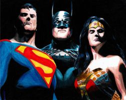 DC Trinity by Wanted75