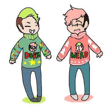 Ugly Christmas Sweater Time! by The-BearSweg