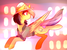 Daring Do |MLP FanArt| by AmiiCommissions