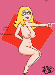 Francine Smith An American Mom by TheNaughtyGoblin