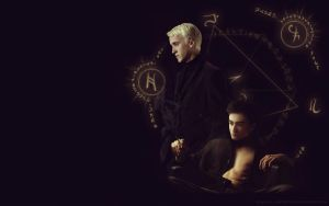 Drarry wallpaper by chouette-e