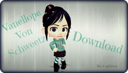 Vanellope Von Schweetz Download Time!!! by capricova