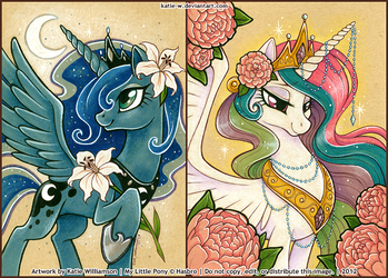 Princesses of Night and Day by Katie-W