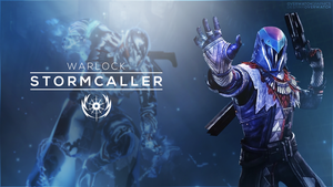 Destiny the Game - Stormcaller Phone Wallpaper by OverwatchGraphics