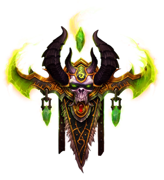 Demon Hunter Crest Transparent BG by keyboardturn