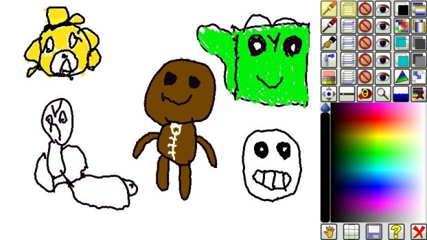deviant art awesome king doodle drawings by yoshigamer12