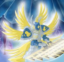 The Music of Seraphimon by Ayhelenk