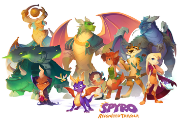 Spyro Reignited Launch Day! by nicholaskole