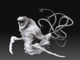 Monster sculpt by JoeyStone